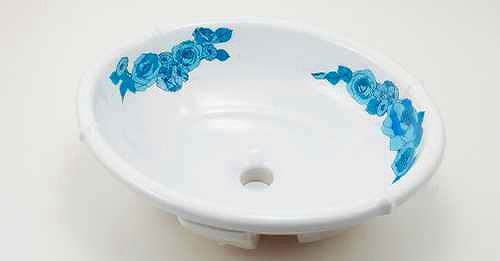#LY-493209-B カクダイ 丸型洗面器