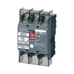 BJW2753K パナソニック 漏電ブレーカ(モータ保護兼用) BJW-75型 2P2E 75A 30mA (端子カバー付)