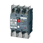 BJW37591K パナソニック 漏電ブレーカ(モータ保護兼用) BJW-125型 3P3E 75A 100/200/500mA切替 (端子カバー付)