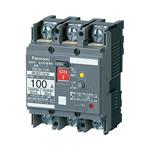 BKW21009K パナソニック 漏電ブレーカ BKW-100型 2P2E 100A 100/200/500mA切替 JIS協約形シリーズ