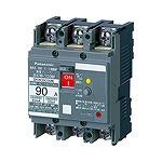 BKW3753MK パナソニック 漏電ブレーカ(モータ保護用) BKW-100M型 3P3E 75A 30mA JIS協約形シリーズ