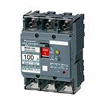 BKW31009CK パナソニック 漏電ブレーカ BKW-100型 3P3E 100A 100/200/500mA切替 (小形端子カバー付)