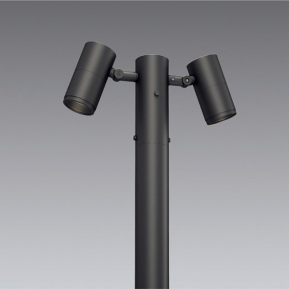 ERL8200H 遠藤照明 ポールヘッド D200 2灯用 超広角 LED