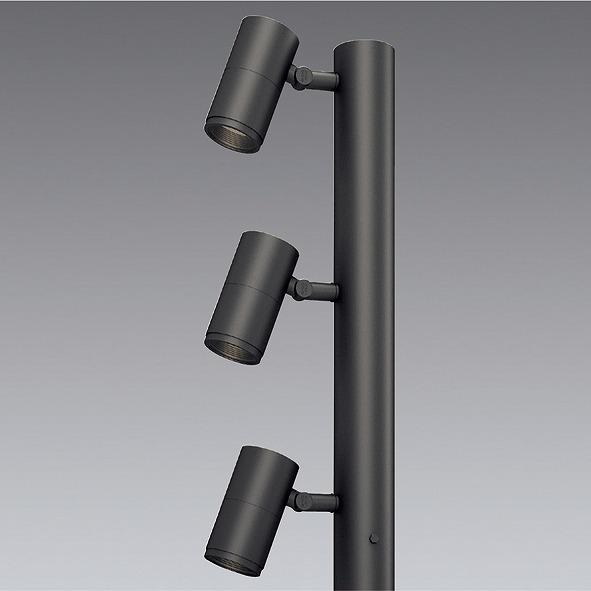ERL8201H 遠藤照明 ポールヘッド D200 3灯用 狭角 LED