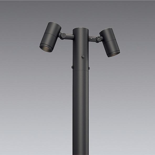 ERL8206H 遠藤照明 ポールヘッド D90 2灯用 超広角 LED