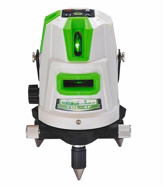 【送料無料】DIY・工具 計測工具 レーザー墨出し器・レーザーレベル レーザー墨出器 測量用品 工事用品 TGL-4P 高儀 グリーンレーザー墨出し器 ハンウェイテック HUT (2V1H1D3P)