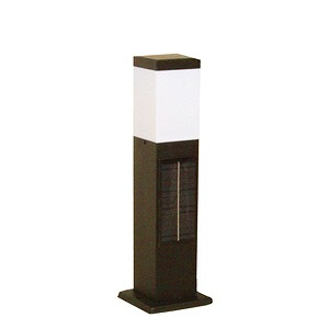 SPL-SL-ORB システック ガーデンライト ソーラーライト ポールライト 黒 LED(電球色)