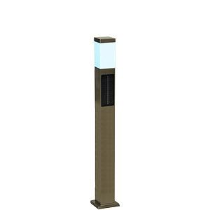 SPL-SLH-WHS システック ガーデンライト ソーラーライト ポールライト シルバー LED(白色)