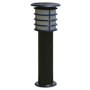 SPL-06-ORB システック ガーデンライト ソーラーライト ポールライト 黒 LED(電球色)