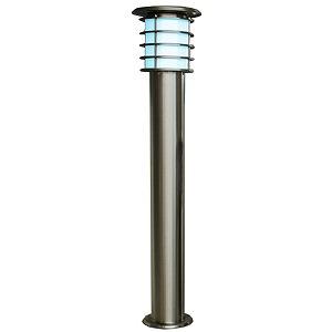 SPL-10-WH システック ガーデンライト ソーラーライト ポールライト シルバー LED(白色)