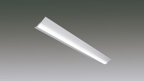 LX190F-63WW-CL40W-D アイリスオーヤマ ラインルクス ベースライト LED 40形 直付型 調光 LED(温白色)