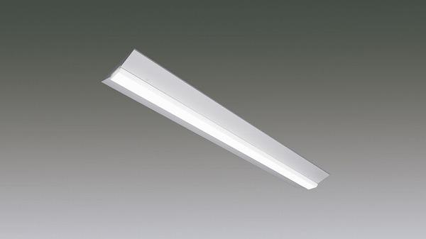 LX190F-46WW-CL40W アイリスオーヤマ ラインルクス ベースライト LED 40形 直付型 非調光 LED(温白色)