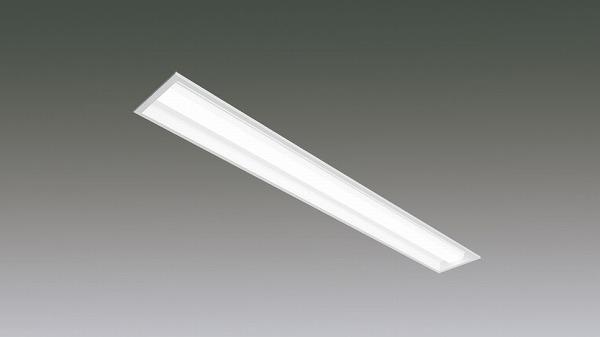 LX190F-17L-UK40-W170-D アイリスオーヤマ ラインルクス ベースライト LED 40形 埋込型 調光 LED(電球色)