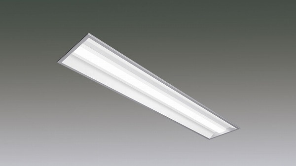 LX190F-17L-UK40-W240 アイリスオーヤマ ラインルクス ベースライト LED 40形 埋込型 非調光 LED(電球色)