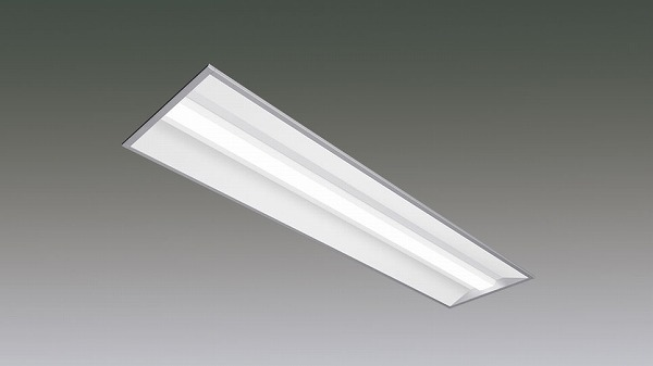 LX190F-18WW-UK40-W328-D アイリスオーヤマ ラインルクス ベースライト LED 40形 埋込型 調光 LED(温白色)