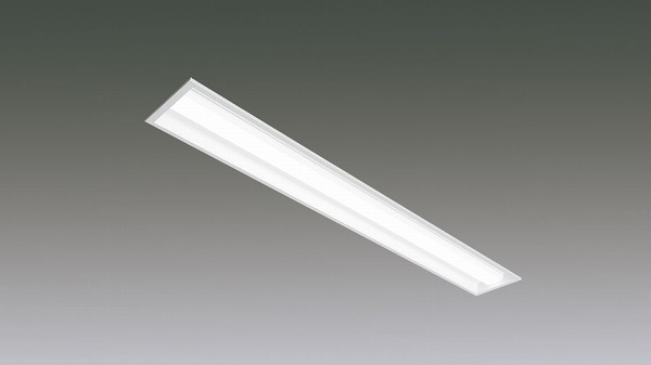 LX160F-44L-UK40-W170-D アイリスオーヤマ ラインルクス ベースライト LED 40形 埋込型 調光 LED(電球色)