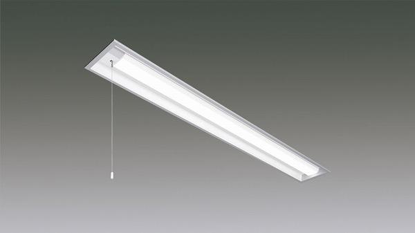 LX160F-42L-UK40-W170-PS アイリスオーヤマ ラインルクス ベースライト LED 40形 埋込型 プルスイッチ付 LED(電球色)