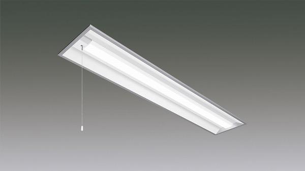 LX160F-20L-UK40-W240-PS アイリスオーヤマ ラインルクス ベースライト LED 40形 埋込型 プルスイッチ付 LED(電球色)