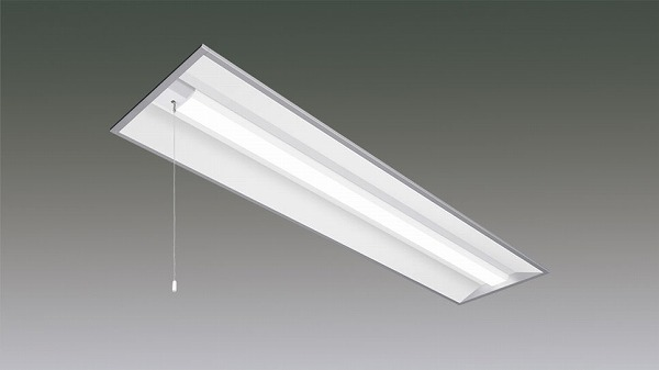 LX160F-61D-UK40-W328-PS アイリスオーヤマ ラインルクス ベースライト LED 40形 埋込型 プルスイッチ付 LED(昼光色)