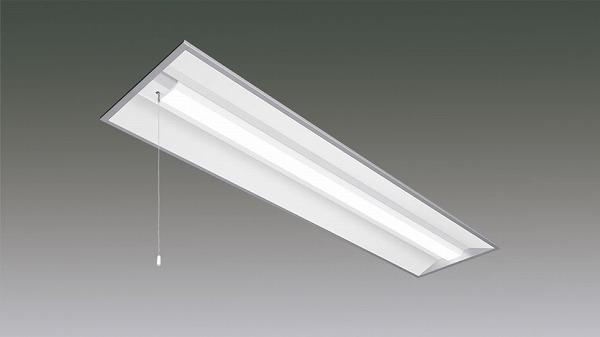LX160F-43L-UK40-W328-PS アイリスオーヤマ ラインルクス ベースライト LED 40形 埋込型 プルスイッチ付 LED(電球色)