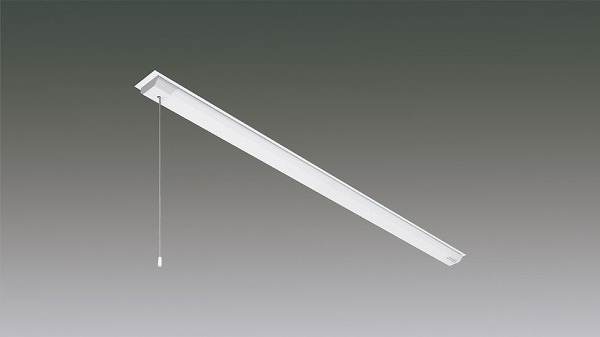 LX160F-22W-CH40-W90-PS アイリスオーヤマ ラインルクス ベースライト LED 40形 Cチャン回避型 プルスイッチ付 LED(白色)