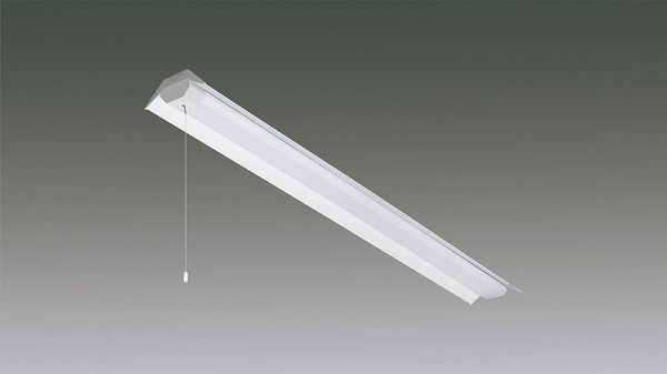 LX160F-43L-RTR40-PS アイリスオーヤマ ラインルクス ベースライト LED 40形 笠付トラフ プルスイッチ付 LED(電球色)