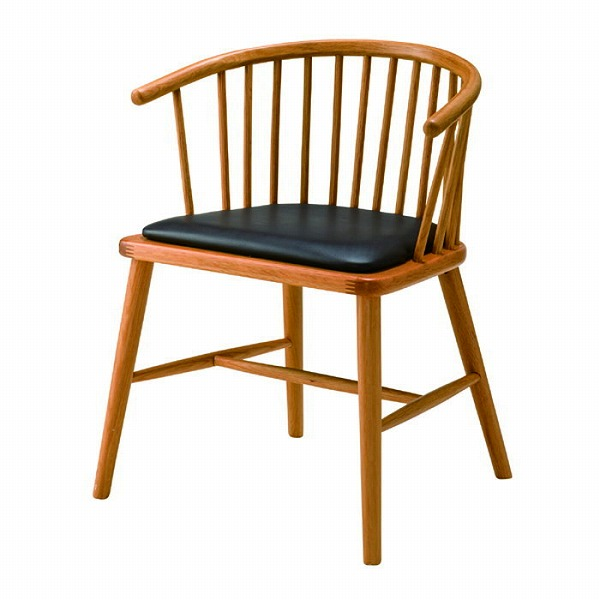 【メーカー直送】 ダイニングチェア 椅子 イス 天然木 ウィンザーチェア風