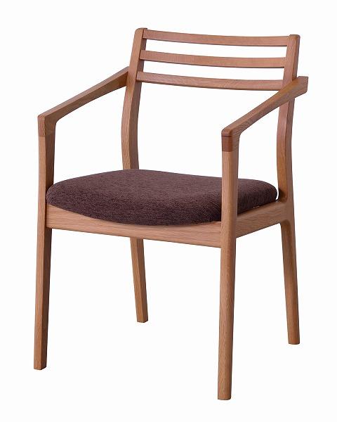 【メーカー直送】 アームチェア 椅子 イス 天然木