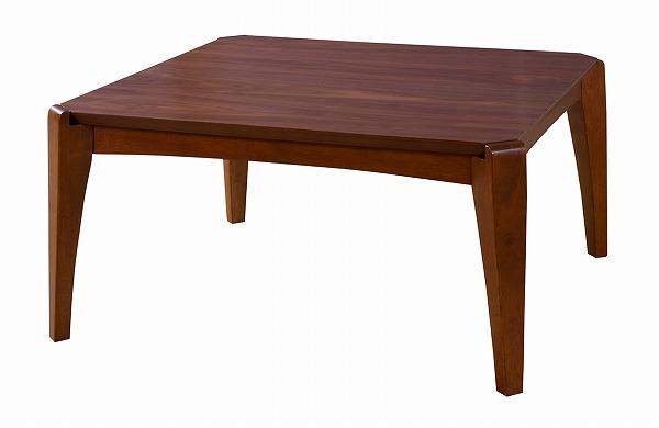 【メーカー直送】 こたつテーブル 正方形 天然木