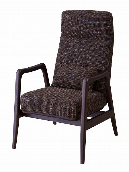 【メーカー直送】 リクライニング パーソナルチェア 椅子 イス 天然木