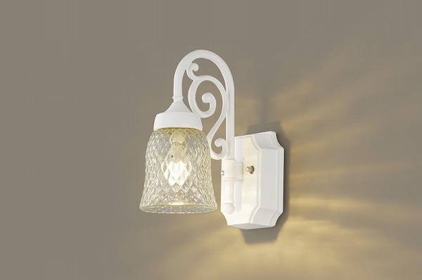 LGW85203WK パナソニック ポーチライト ホワイト LED(電球色) (LGW85203W 後継品)