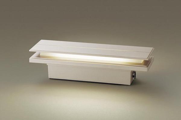 LGWJ50126KLE1 パナソニック 門柱灯・門袖灯 プラチナメタリック LED(電球色) センサー付 (LGWJ50126K LE1) (LGWJ50126LE1 推奨品)