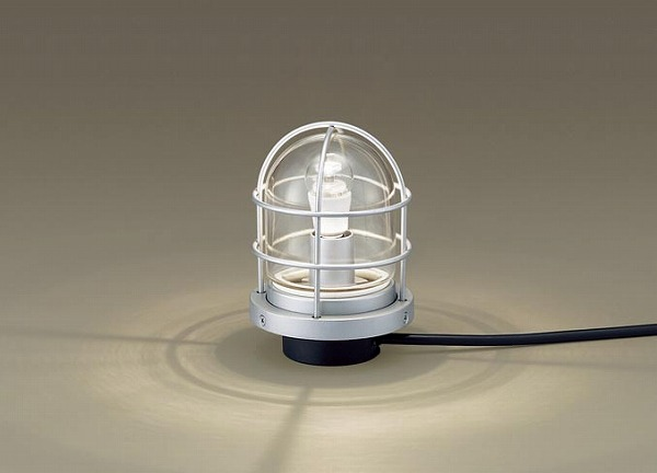 LGW45834S パナソニック 屋外用スタンド シルバーメタリック LED(電球色)
