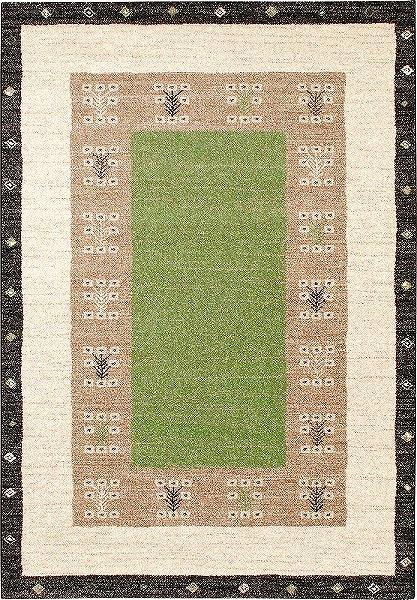 【メーカー直送】 3306 Prevell ラグ カーペット マット ヴォルテ ナチュラルグリーン 約133×195cm
