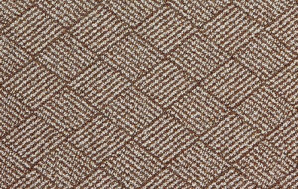2393 Prevell ラグ カーペット マット ペルデII 01_ニューブラウン 約190×190 cm