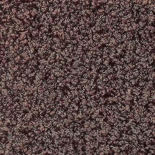 2251 Prevell ラグ カーペット マット ジャスパー 円形 ブラウン 約200×200cm