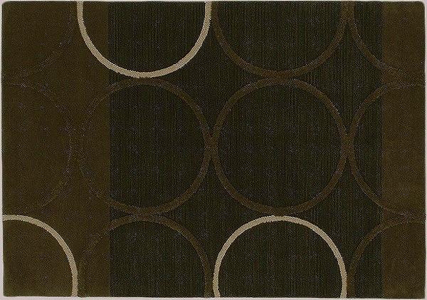1406-752 Prevell ラグ カーペット マット テルム ブラウン 約200×250cm