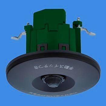 WTK44819B パナソニック 軒下天井取付 熱線センサ付自動スイッチ(親器・8Aタイプ・広角検知形) ブラック