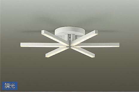 DCH-40861YG ダイコー シャンデリア 白 LED 電球色 調光 ~8畳