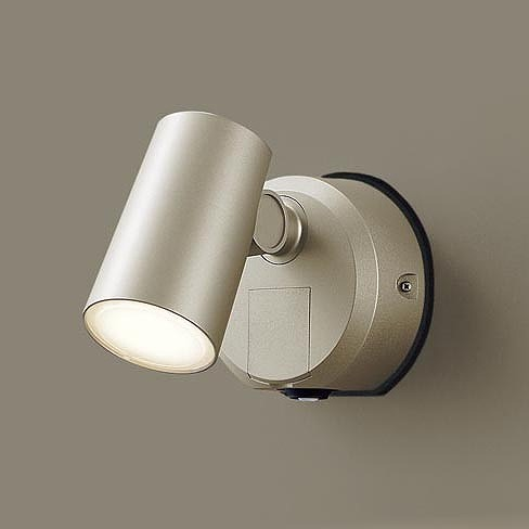 LSEWC6006YLE1 パナソニック 屋外用スポットライト プラチナ LED(電球色) センサー付 拡散