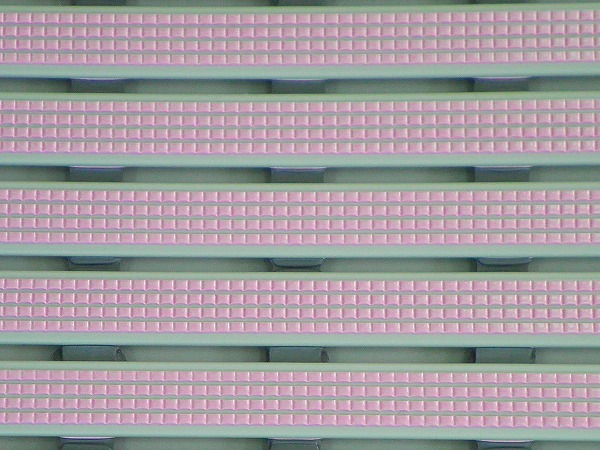 【メーカー直送】 みずわ工業 ロールスノコ すのこ 5m プール ジム シャワールーム 厚15mm×幅600mm パールピンク