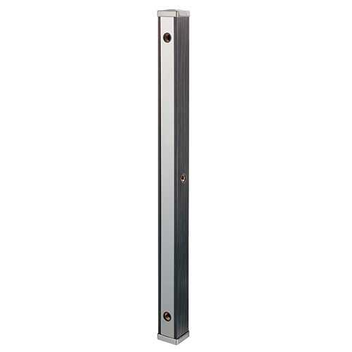 624-173 カクダイ 水栓柱(分水孔つき) 黒木目 70角