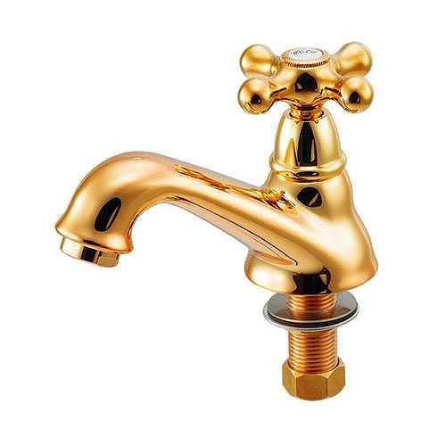 722-420-G カクダイ 立水栓 ゴールド (722-421-13 後継品)