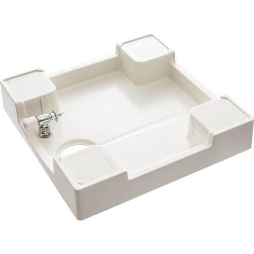 H5410KS-640 三栄水栓 【寒冷地用】洗濯機パン(洗濯機用水栓付) アイボリーホワイト SANEI