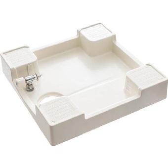 H5410S-640 三栄水栓 洗濯機パン(洗濯機用水栓付) アイボリーホワイト SANEI