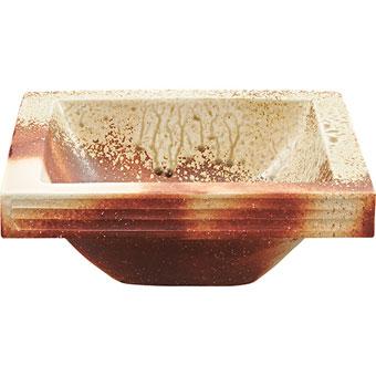 HW20231-001 三栄水栓 手洗器 紅 角型 SANEI