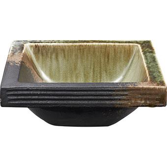 HW20231-023 三栄水栓 手洗器 翠緑 角型 SANEI