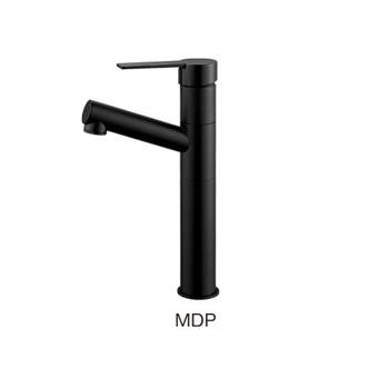 K475NJVZ-2T1-MDP-13 三栄水栓 シングルワンホール洗面混合栓 U-MIX column MDP(マットブラック) SANEI