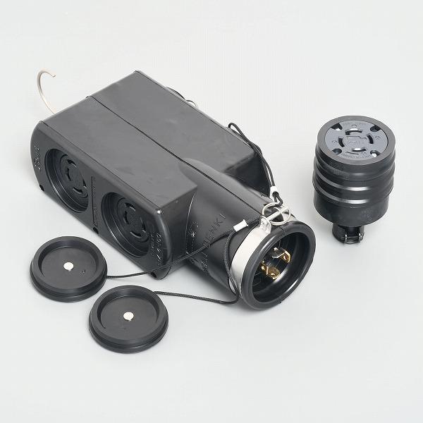 PRZ-4-160 アメリカン電機 PRZ-4-160 引掛形 携帯用電源函 接地3P 20A 250V