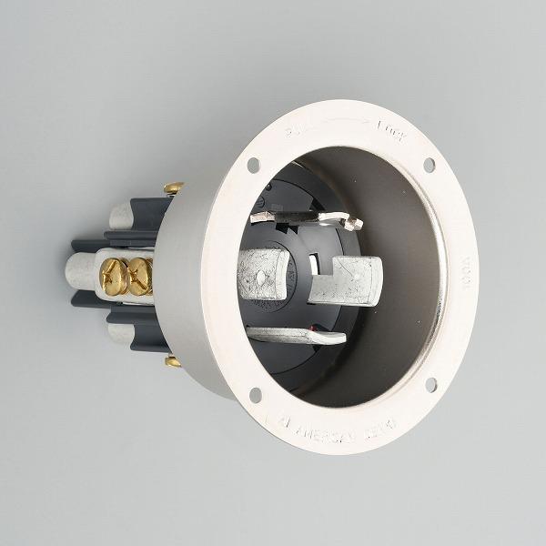 41025 アメリカン電機 引掛形 フランジインレット(メタルケース)